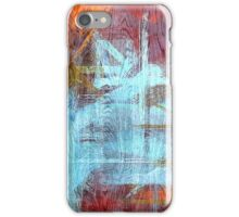Colorful Wood Grain Modern Abstract Art iPhone Case/Skin