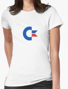 Commodore's C= chicken head logo Womens Fitted T-Shirt
