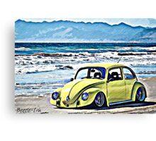 Vintage Yellow Sands Canvas Print