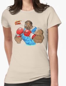 Streetfighter Balrog Womens Fitted T-Shirt