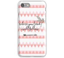 Gilmore Girls- Where you lead I will follow iPhone Case/Skin