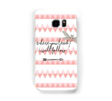 Gilmore Girls- Where you lead I will follow Samsung Galaxy Case/Skin