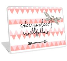 Gilmore Girls- Where you lead I will follow Laptop Skin