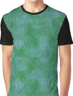 Danita's Green & Blue Microbeads Graphic T-Shirt
