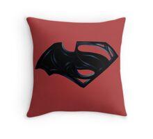 Batman Vs Superman Throw Pillow