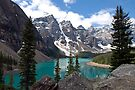 MORAINE LAKE by Raoul Madden
