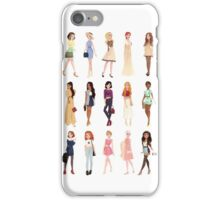 Trendy Princesses iPhone Case/Skin