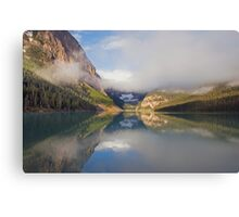 LAKE LOUISE IN THE CANADIAN ROCKIES Canvas Print