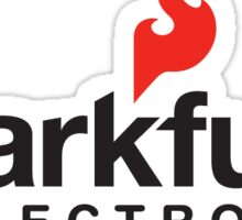Sparkfun Logo with name Sticker