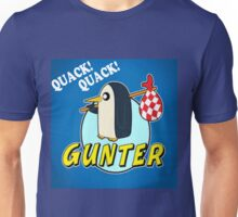 PINGU AND ADVENTURE TIME CROSS OVER Unisex T-Shirt