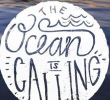 The Ocean Is Calling Sticker