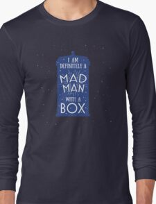 A Mad Man With A Box Long Sleeve T-Shirt
