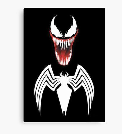 Spider's anti-hero Canvas Print
