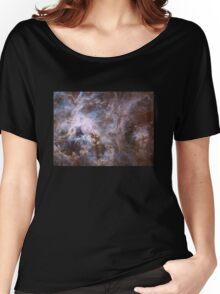 Deep Space Nebula Galaxy Women's Relaxed Fit T-Shirt