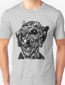 Scary Monster Deformed Face T-Shirt