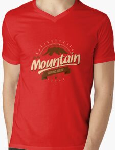 Death Mountain Mens V-Neck T-Shirt
