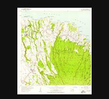 USGS TOPO Map Hawaii HI Haiku 349234 1957 24000 Unisex T-Shirt