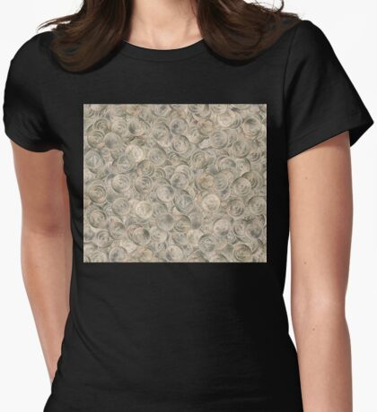 Dean's Silver Dollars Womens Fitted T-Shirt