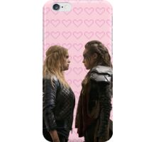 It all started with a Blonde and a Brunette | Clexa iPhone Case/Skin