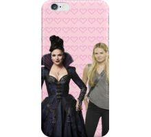 It all started with a Blonde and a Brunette | Swan Queen iPhone Case/Skin