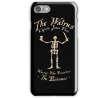 Black Sails - The Walrus iPhone Case/Skin