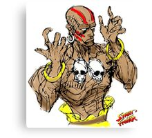 Streetfighter 2 Dhalsim Canvas Print