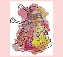 Dalek Watercolour Kids Tee