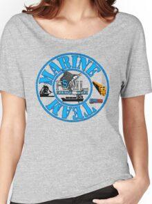 Rail Sail Marine Team ~ Riviera Visual Graphic Design Sydney ~ Women's Relaxed Fit T-Shirt
