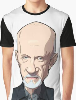 Mike Breaking bad caricature Graphic T-Shirt