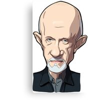 Mike Breaking bad caricature Canvas Print