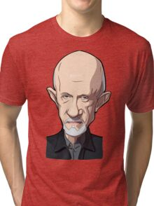 Mike Breaking bad caricature Tri-blend T-Shirt