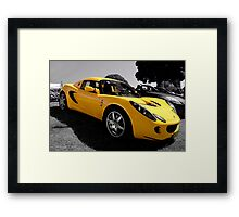 2008 Lotus Elise S Framed Print