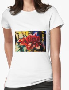 Stephs blooms Womens Fitted T-Shirt