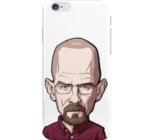 Walter White Breaking Bad Caricature iPhone Case/Skin