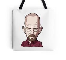 Walter White Breaking Bad Caricature Tote Bag