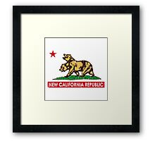 New California Republic  Framed Print