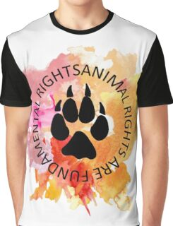 Animal Rights Graphic T-Shirt