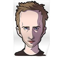 Jesse pinkman Breaking Bad Caricature Poster