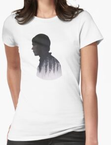 Bellamy - The 100 - Forest  Womens Fitted T-Shirt