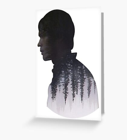 Bellamy - The 100 - Forest  Greeting Card