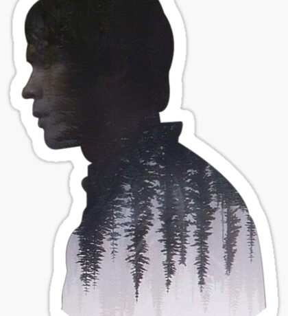 Bellamy - The 100 - Forest  Sticker