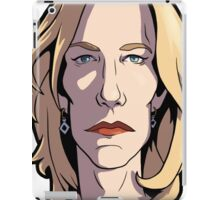Skyler Breaking Bad Caricature iPad Case/Skin