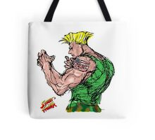Streetfighter 2 Guile Tote Bag