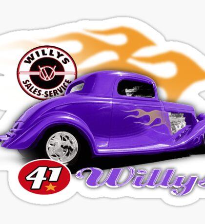 willy Sticker