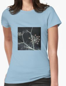 Night Whispers Womens Fitted T-Shirt