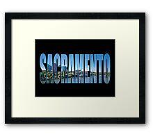 Sacramento Framed Print