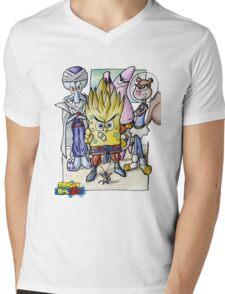 Dragonball Bob Z Mens V-Neck T-Shirt