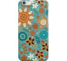 Scandinavian flowers iPhone Case/Skin