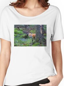Red Fox - Algonquin Park, Canada Women's Relaxed Fit T-Shirt