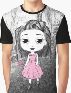 Little Miss in the Forest Graphic T-Shirt